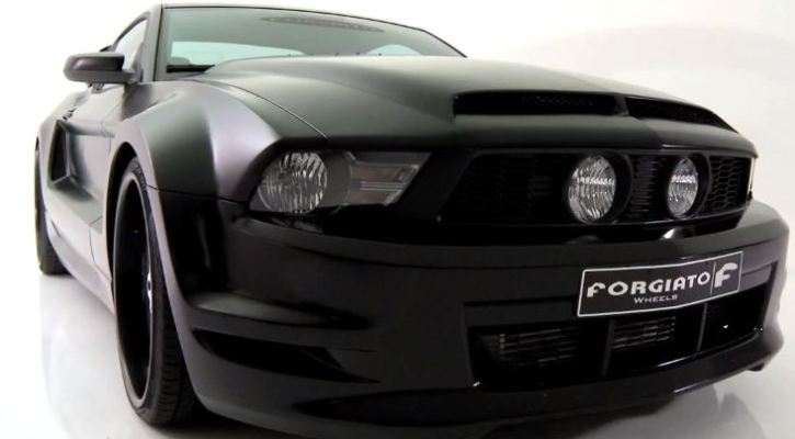 ford mustang 5.0 custom by forgiato