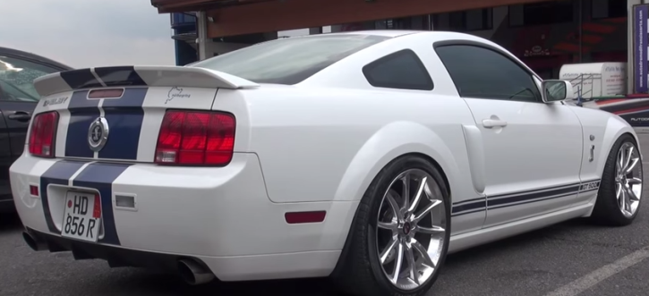 modified ford mustang shelby gt500 test drive