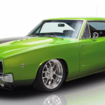 1968 dodge charger muscle rod sho