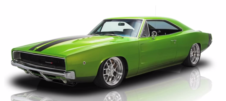 1968 DODGE CHARGER - AWESOME MOPAR MUSCLE CAR BY MUSCLE ROD SHOP | HOT ...