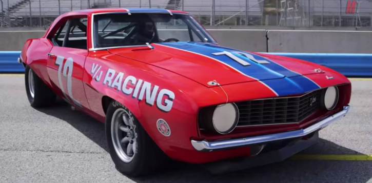 1969 Chevy Camaro Z28 Trans-Am Series Race Car