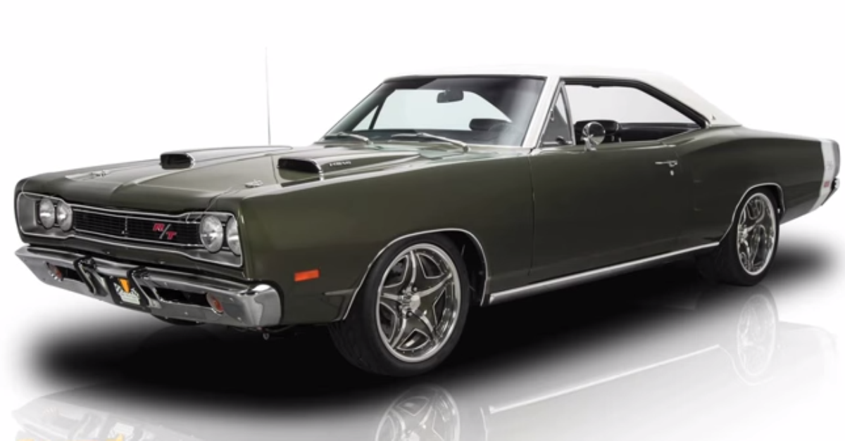 1969 Dodge Coronet RT big block mopar muscle car
