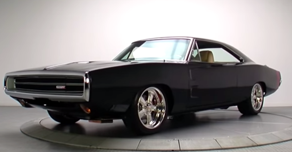 Brutal 1970 Dodge Charger 500 V8 Big Block  HOT CARS