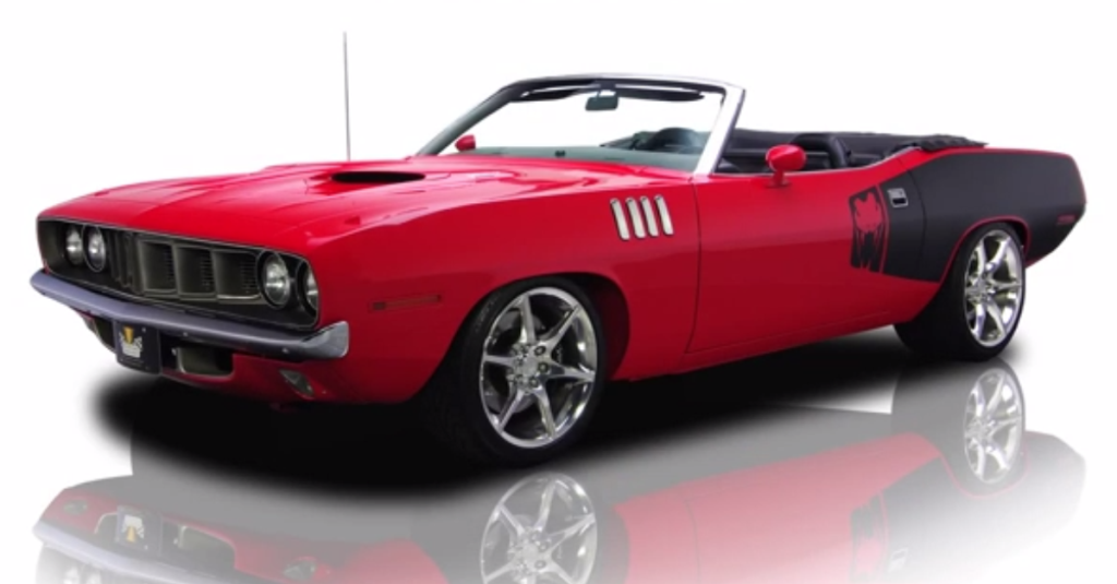 1971 plymouth barracuda v10 convertible hot cars. Black Bedroom Furniture Sets. Home Design Ideas