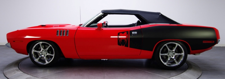 1971 plymouth barracuda convertible cutom
