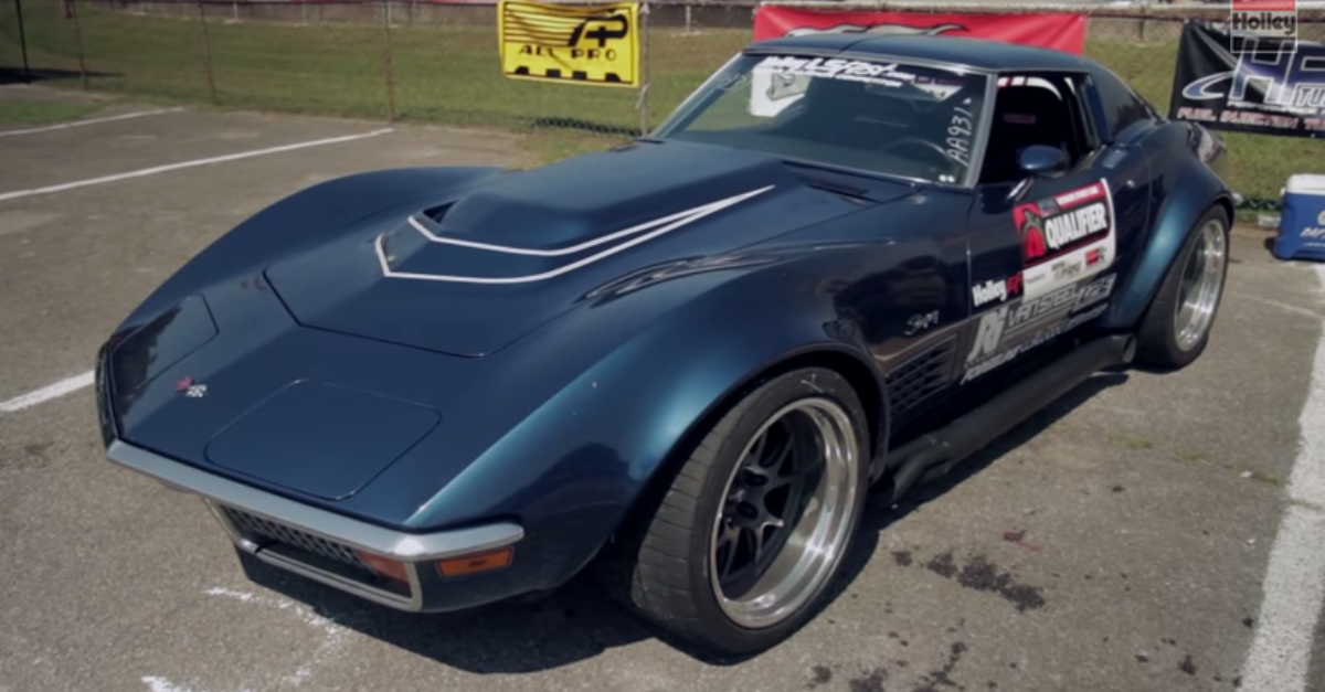1972 chevrolet Corvette LT1 american sports cars