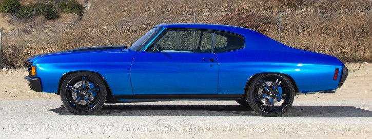 1972 chevrolet chevelle ss custom forgiato