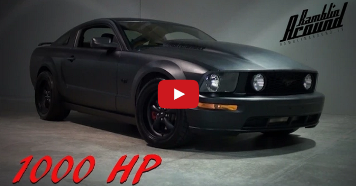 2006 FORD MUSTANG GT S197 1000HP BLACK KNIGHT FAST MUSCLE CARS Hot Cars