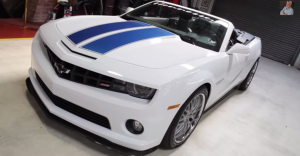 2011 Hennessey HPE600 Chevy Camaro Convertible muscle car