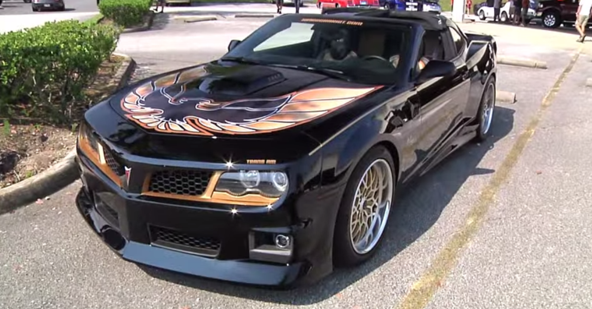 2013 trans am hurts edition muscle car