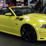 2014 Saleen 302 Black Label Supercharged Ford Mustang muscle car