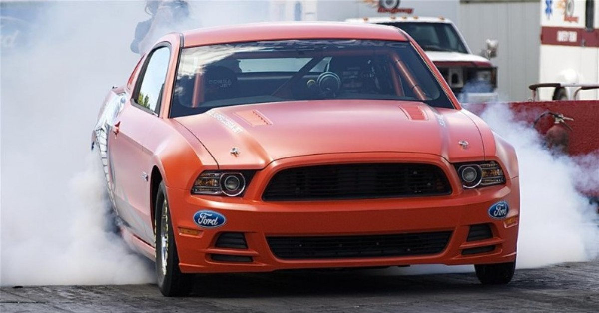 2014 supercharged ford mustang cobra jet prototype fast muscle cars