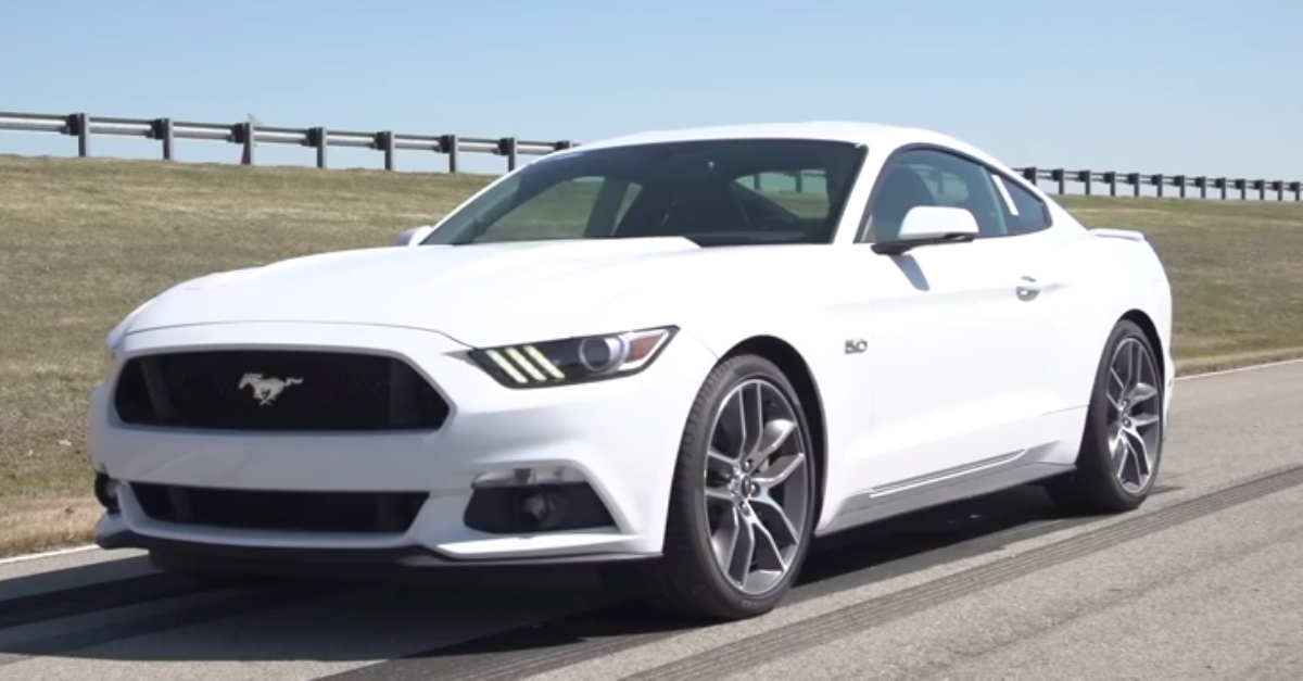 2015 Ford Mustang GT Line Lock burnout american muscle cars | HOT CARS