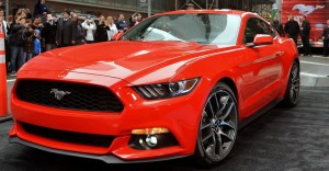 2015 ford mustang muscle car