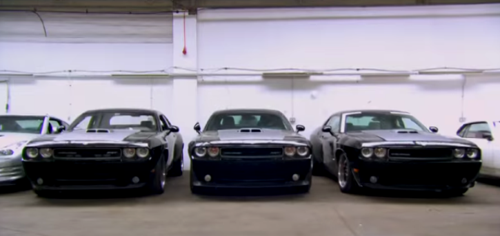 DODGE MUSCLE CARS IN THE FAST AND FURIOUS MOVIES