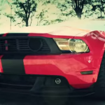 ford mustang gt shelby 500 muscle car vossen wheels