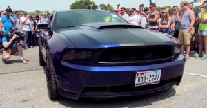 ford mustang muscle cars show
