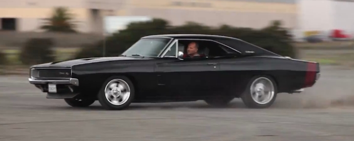 mike musto 1968 dodge charger muscle car
