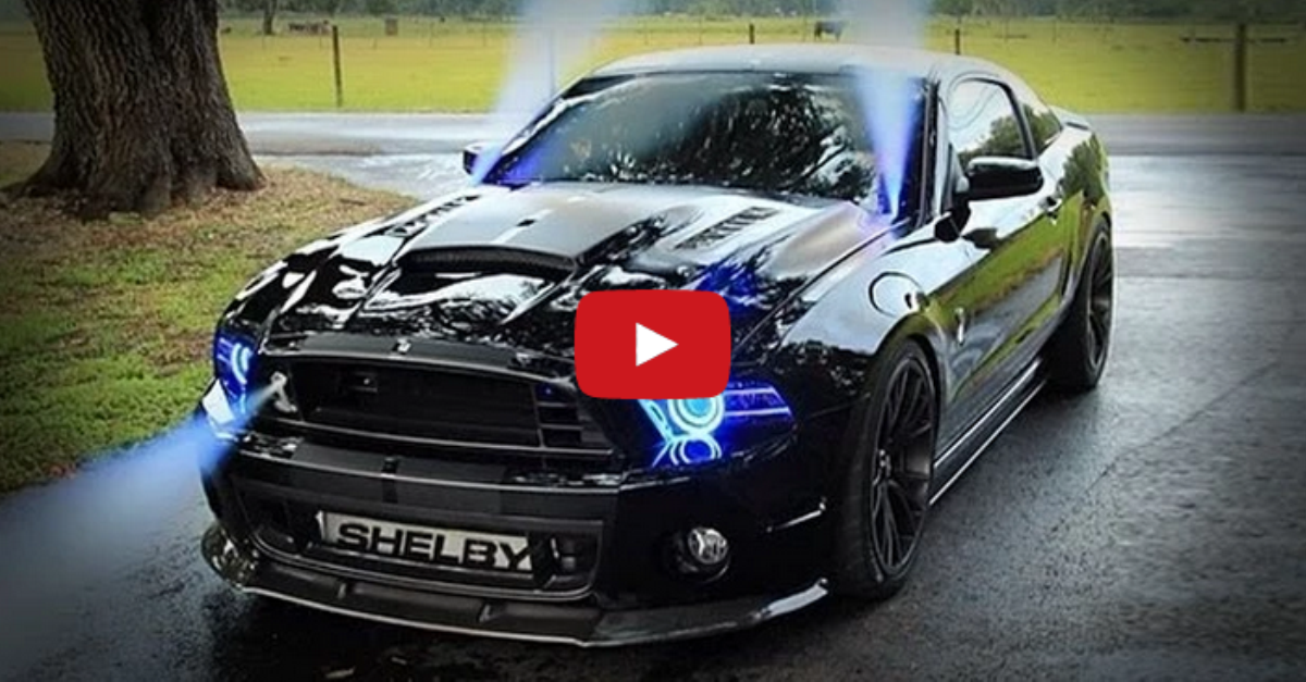 Modified Ford Mustang Shelby Cobra Muscle Car Hot Cars