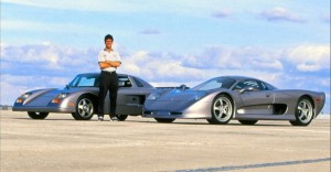 mosler mt900 and consulier gtp sports cars