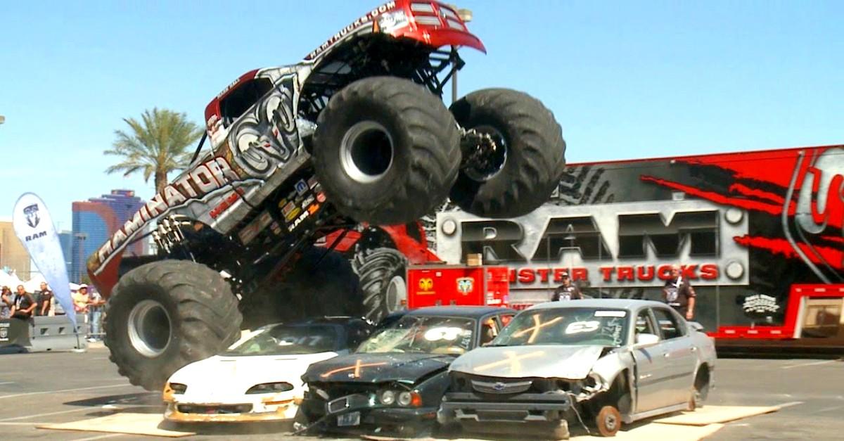 raminator mopar monster truck