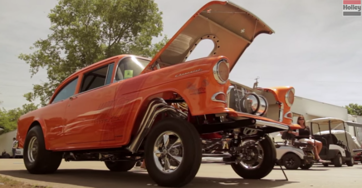1955 chevy gasser orange krate