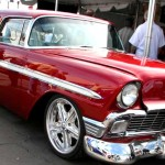 1956 chevy nomad 572 restored muscle car