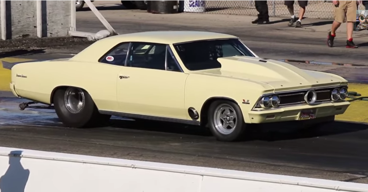 1966 chevy chevelle ss pro charged muscle car