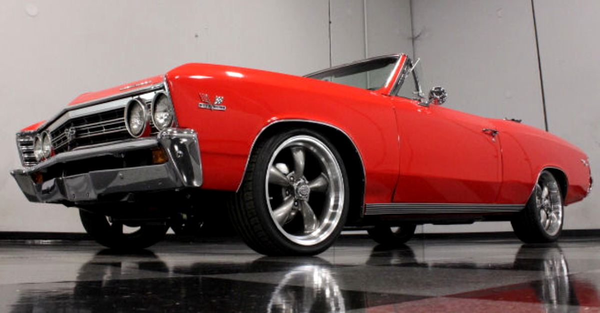 1967 chevy chevelle ss convertible restored muscle car