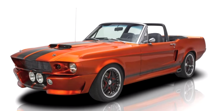 1967 mustang gt500 convertible eleanor