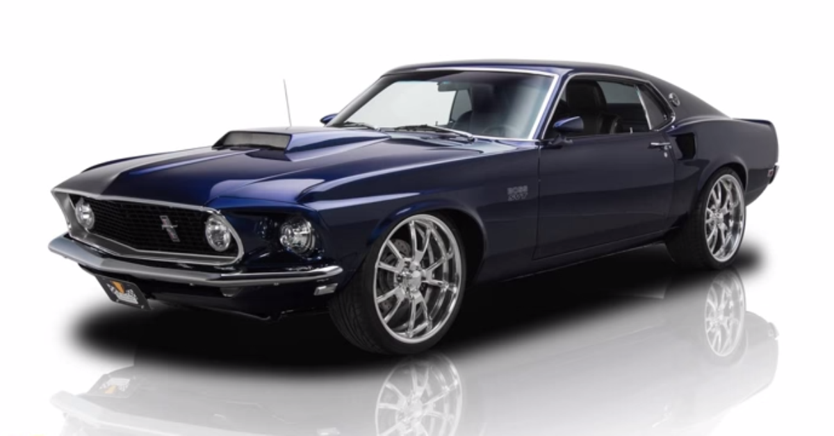 1969 Ford Mustang muscle car