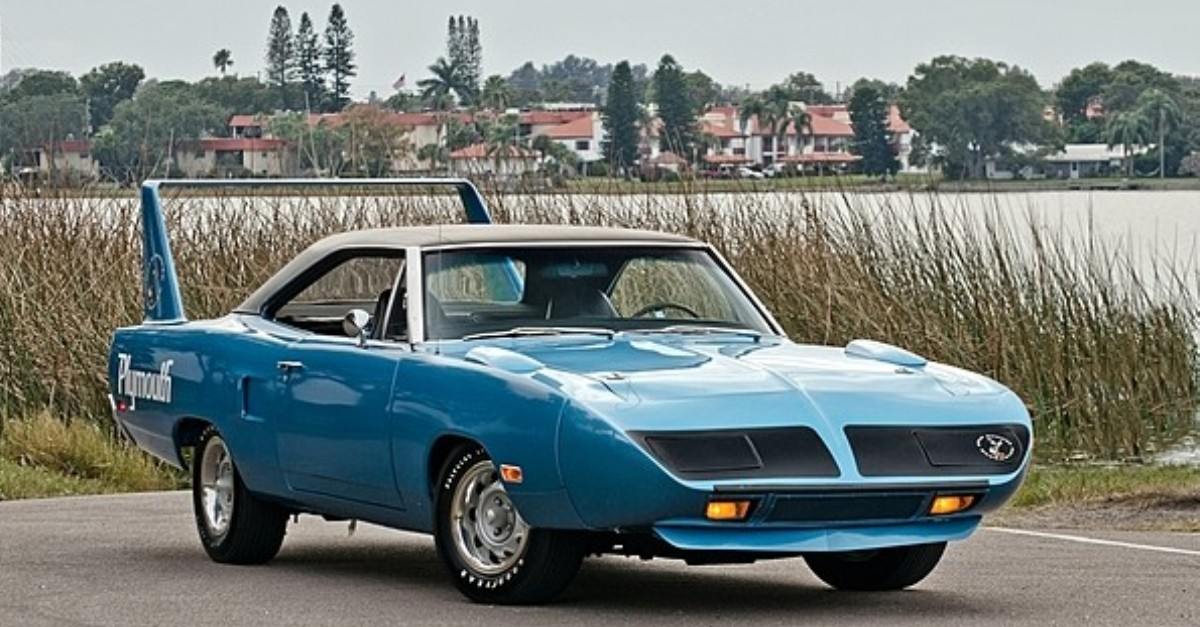 1970 plymouth super bird hemi powered mopar muscle car