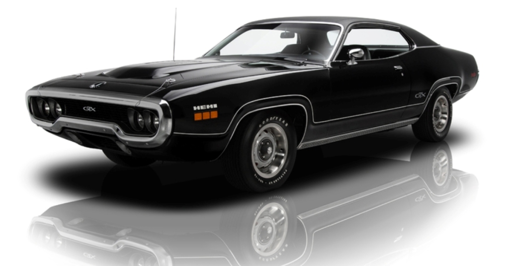 Hemi Powered 1971 Plymouth Gtx Hot Cars
