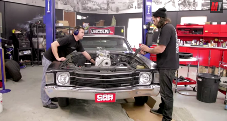 1972 CHEVY CHEVELLE BUILT IN A DAY