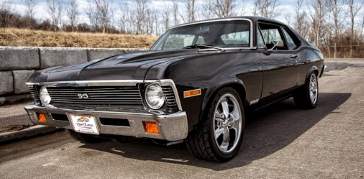 1972 chevy nova 350 v8 muscle car