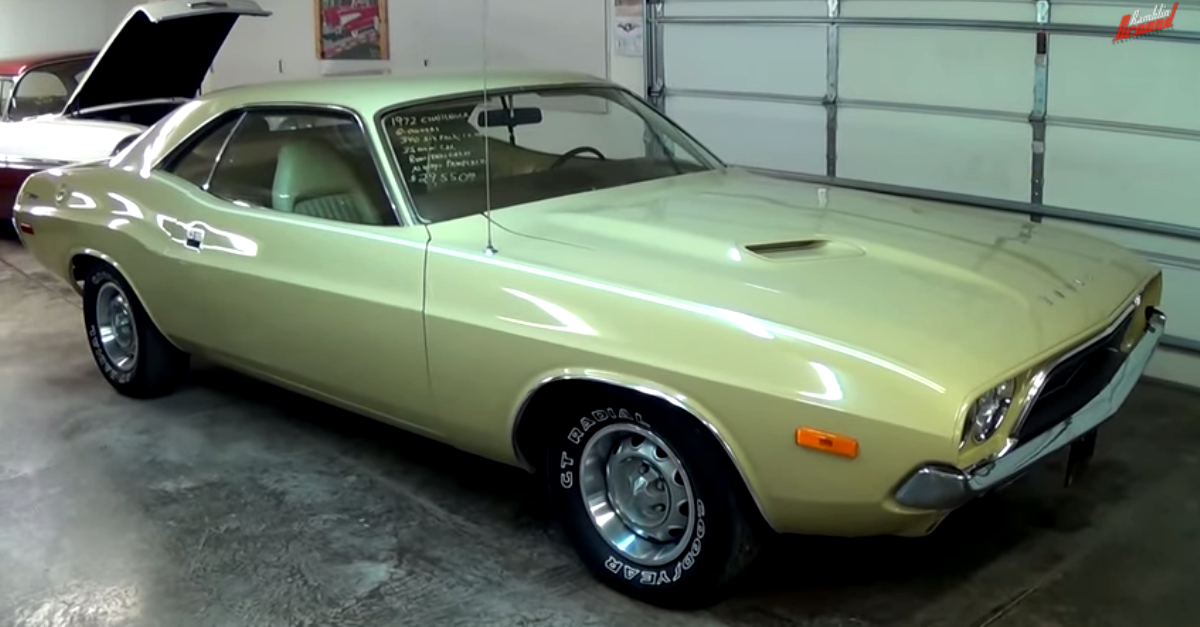 1972 dodge challenger 340 six pack mopar muscle car