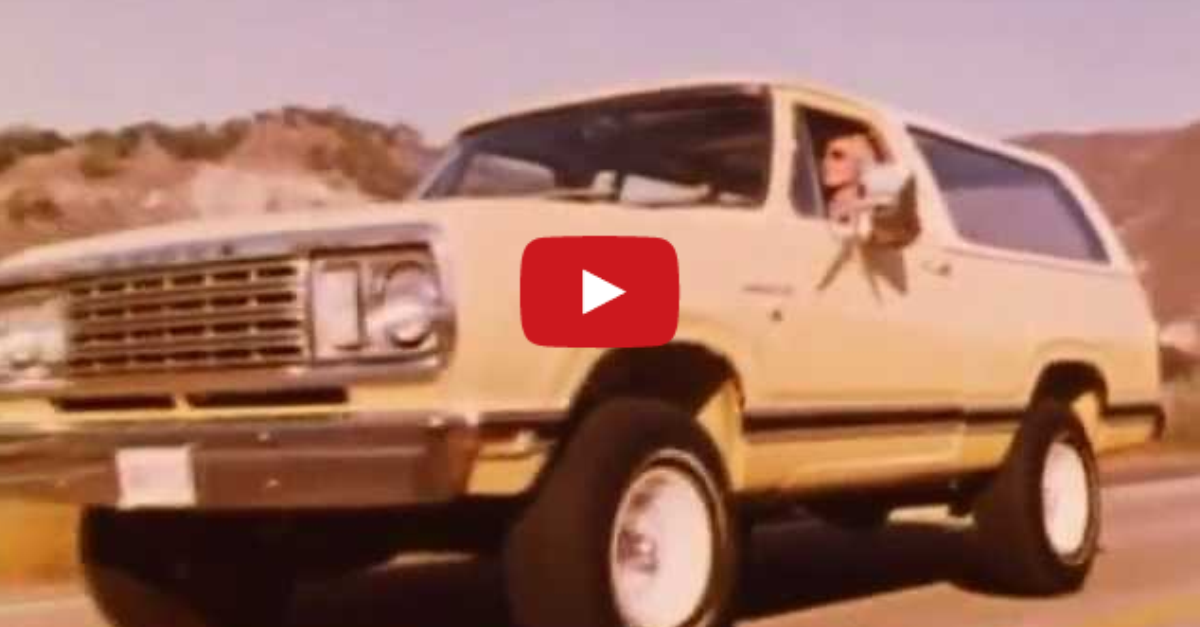 1977 dodge ramcharger original promo film