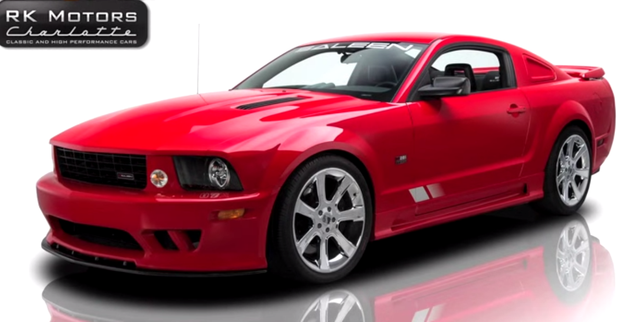 2007 ford mustang saleen s281 muscle car