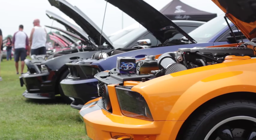 2014 American Muscle Mustang Show in Pennsylvania