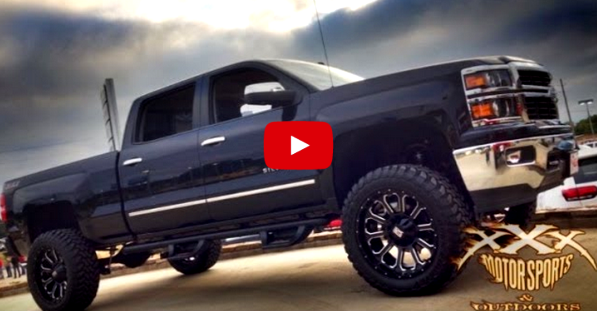 2014 Chevy Silverado custom lifted trucks