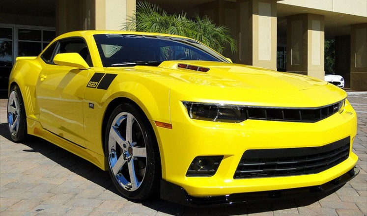 2014 chevy camaro ss saleen black label
