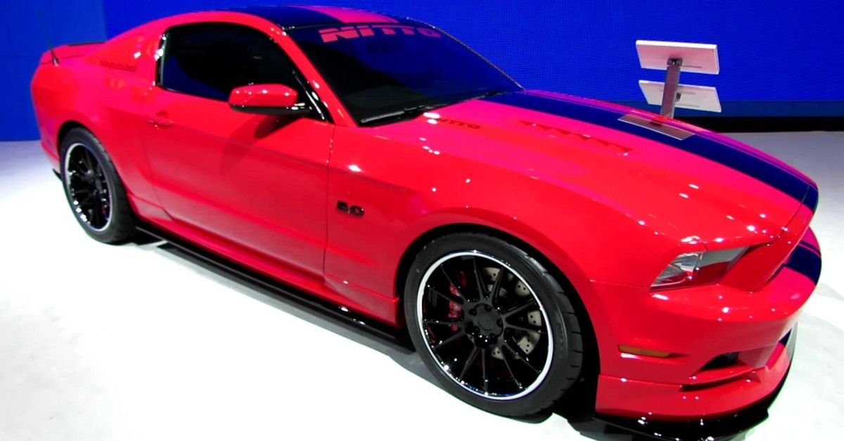 2014 ford mustang gt nitto muscle car