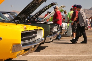2014 moparty at the strip car event las vegas speedway