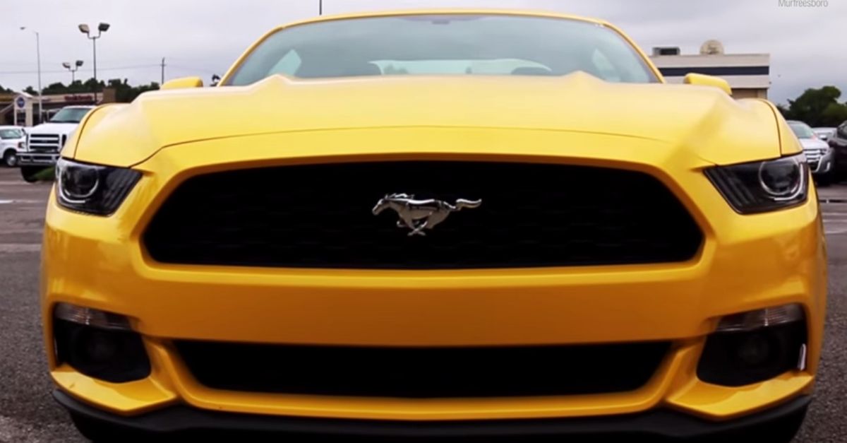 2015 Ford Mustang 2.3Liter twin scroll turbocharged muscle car