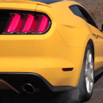 2015 Ford Mustang GT First Drive rear