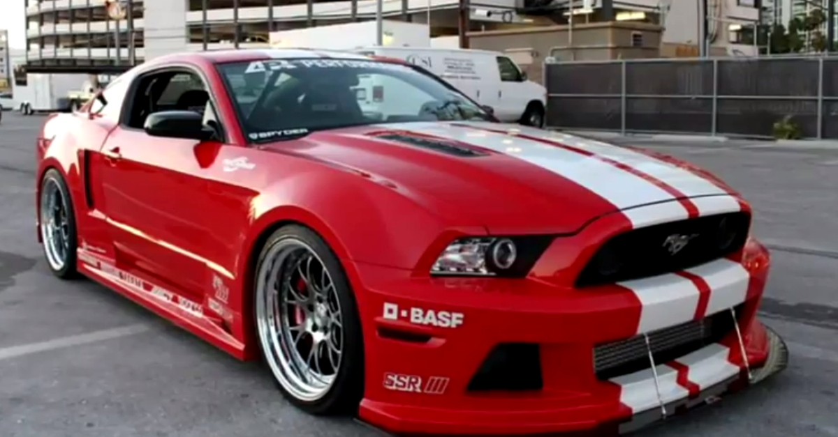 Mustang Shelby GT Wide boy kits