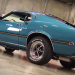 Restored 1969 Mustang Mach 1 S Code 390 muscle car