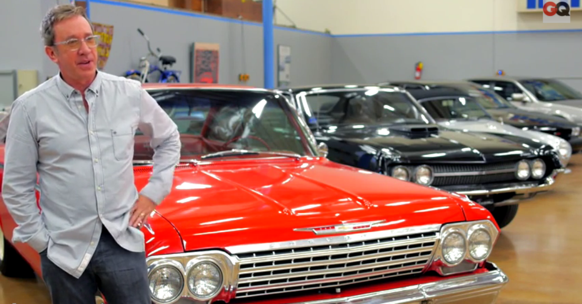 Tim Allen's american classic cars collection