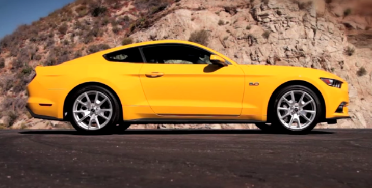 first drive of the 2014 ford mustang gt