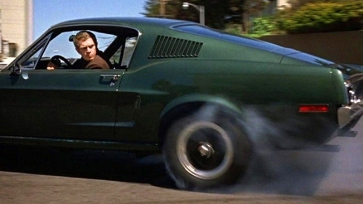 the iconic car chase scene from bullitt hot cars. Black Bedroom Furniture Sets. Home Design Ideas